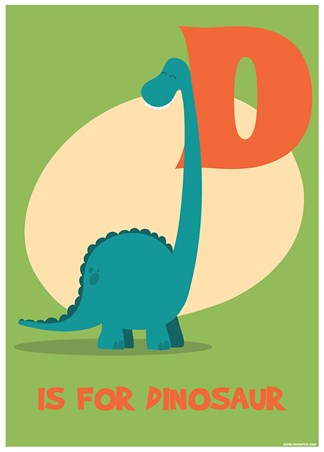 D Is For Dinosaur - Learning For Children