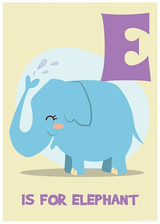 E...is for Elephant - Funny Alphabet
