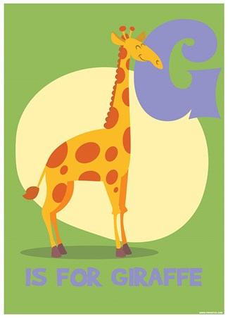 G...is for Giraffe - Animal Education