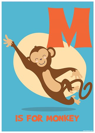 M Is For Monkey - Learning For Children