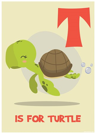T Is For Turtle, Learning With Animals