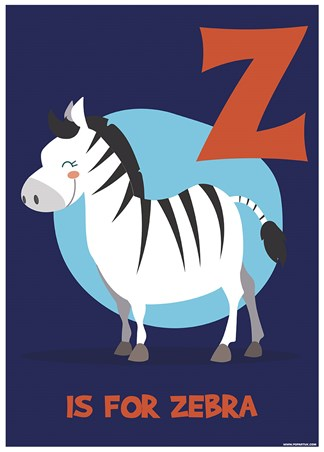 Z...Is For Zebra - Animal Education