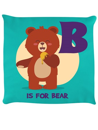 B Is For Bear Cushion -