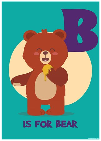 B...Is For Bear - Animal Alphabet