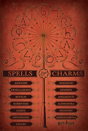 Spells & Charms - Harry Potter