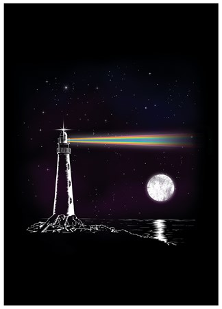 A Spectrum Of Colour - Rainbow Searchlight