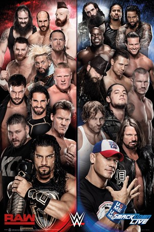 Raw vs Smackdown - WWE