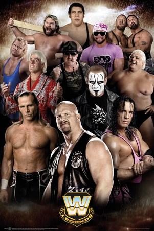 Wrestling Legends, WWE