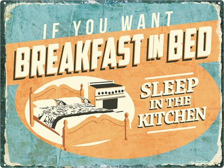 Breakfast In Bed? - Sleep In The Kitchen