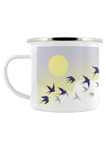 A Flock Of Birds - Swallow Sunset