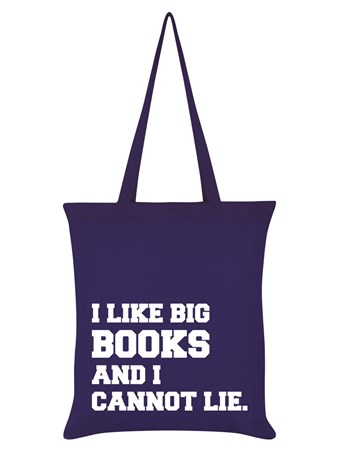 I Like Big Books And I Cannot Lie - Geeky Fun