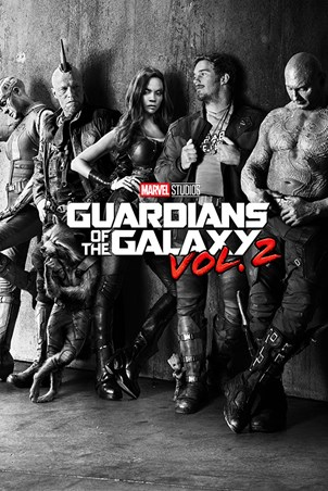 Black and White Teaser, Guardians Of The Galaxy Vol.2