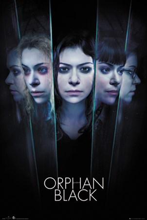 Framed Faces - Orphan Black