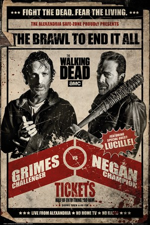 Framed Fight Night - The Walking Dead