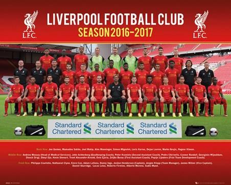 Team Photo 2016/17 - Liverpool Football Club