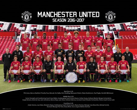 Team Photo 2016/17 - Manchester United