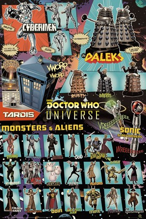 Doctor Who Universe - Monsters and Aliens
