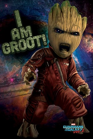 Angry Groot - Guardians of the Galaxy Vol.2