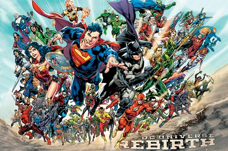 Justice League Rebirth - DC Comics