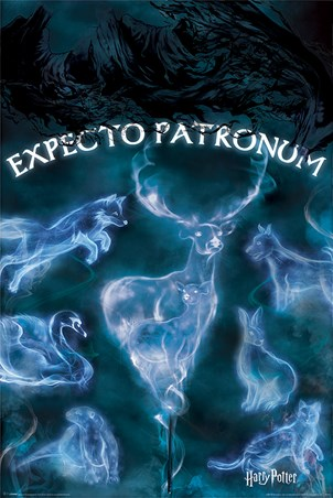 Framed Expecto Patronum - Harry Potter