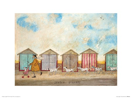 Spotty Joggers - Sam Toft