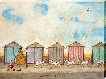 Framed Spotty Joggers - Sam Toft