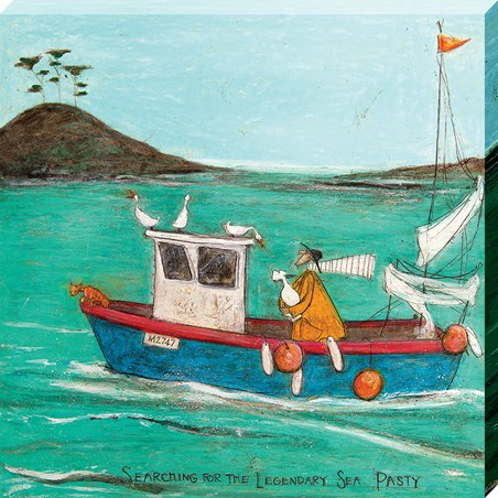 Searching For The Legendary Sea Pasty - Sam Toft