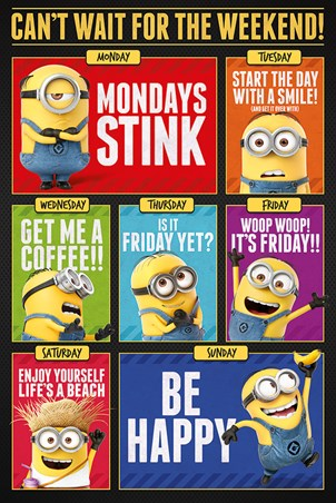 Can't Wait For The Weekend! - Despicable Me 3