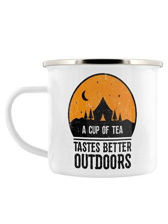 The Perfect Vessel For An Outdoor Brew - A Cup Of Tea Tastes Better Outdoors