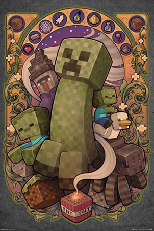 Creeper Nouveau - Minecraft