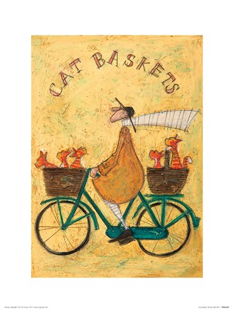 Cat Baskets - Sam Toft