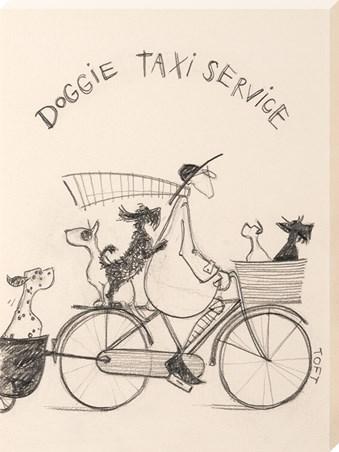 Doggie Taxi Service Sketch - Sam Toft