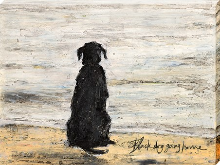 Black Dog Going Home - Sam Toft