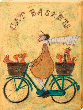 Framed Cat Baskets - Sam Toft