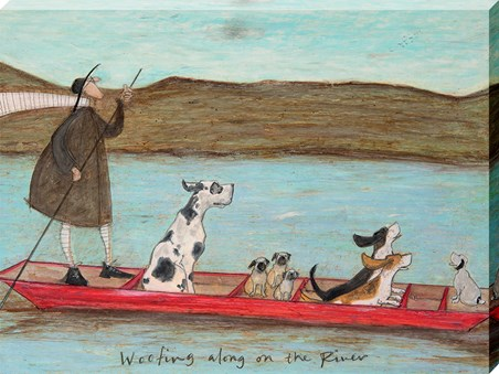 Woofing Along On The River - Sam Toft