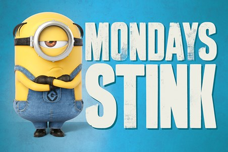 Mondays Stink - Despicable Me 3