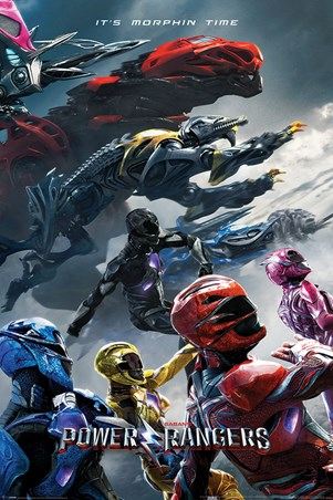Movie Charge - Power Rangers