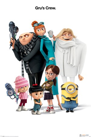 Gru's Crew - Despicable Me 3