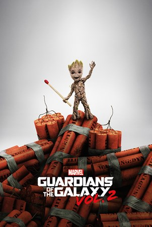Groot Dynamite - Guardians Of The Galaxy Vol. 2