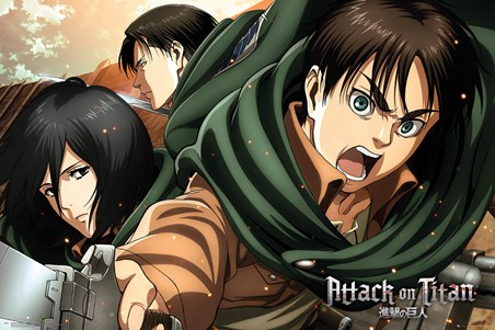 Framed Scouts - Attack On Titan Season 2