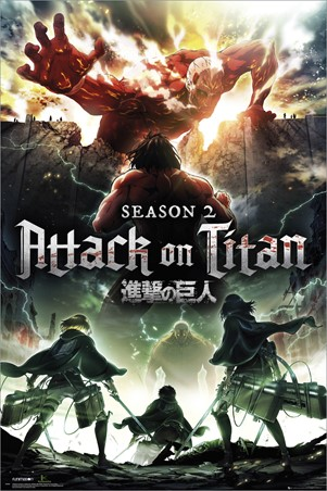 Season 2, Attack On Titan