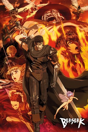 Through The Firey Blaze - Berserk Collage