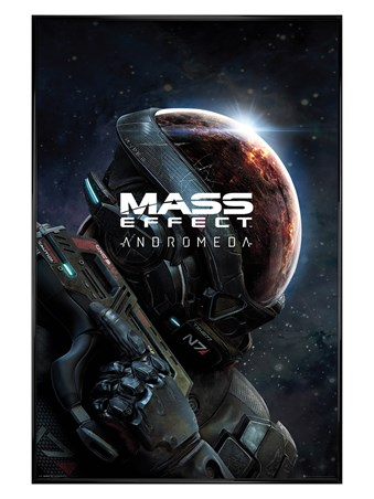 Gloss Black Framed A New Galaxy - Mass Effect: Andromeda