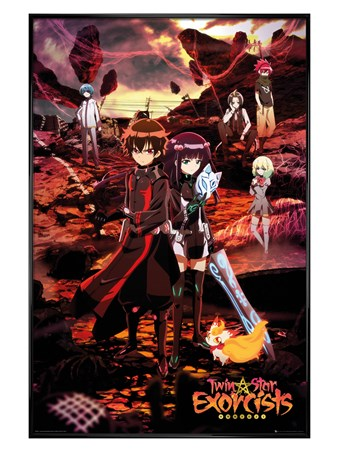 Framed Gloss Black Framed Sousei No Onmyouji - Twin Star Exorcists