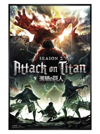 Season 2 - Attack On Titan Poster