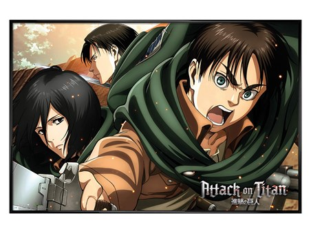 Gloss Black Framed Scouts - Attack On Titan Season 2