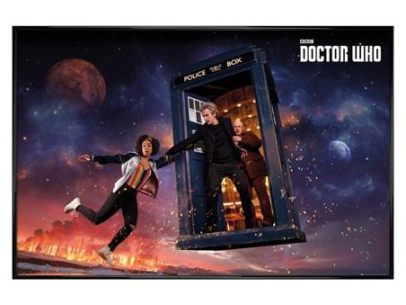 Gloss Black Framed Season 10 Iconic - Doctor Who