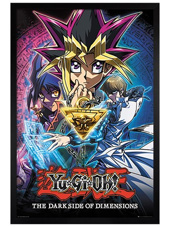Framed Black Wooden Framed The Dark Side Of Dimensions - Yu Gi Oh!