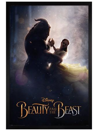 Black Wooden Framed Ballroom Dance - Beauty and the Beast Movie