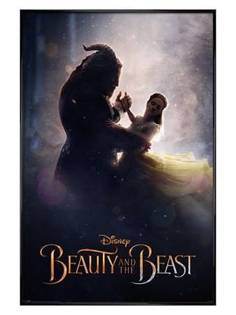 Gloss Black Framed Ballroom Dance - Beauty and the Beast Movie